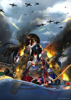 The Battle of Midway [Kancolle Version] by kishiro-kun