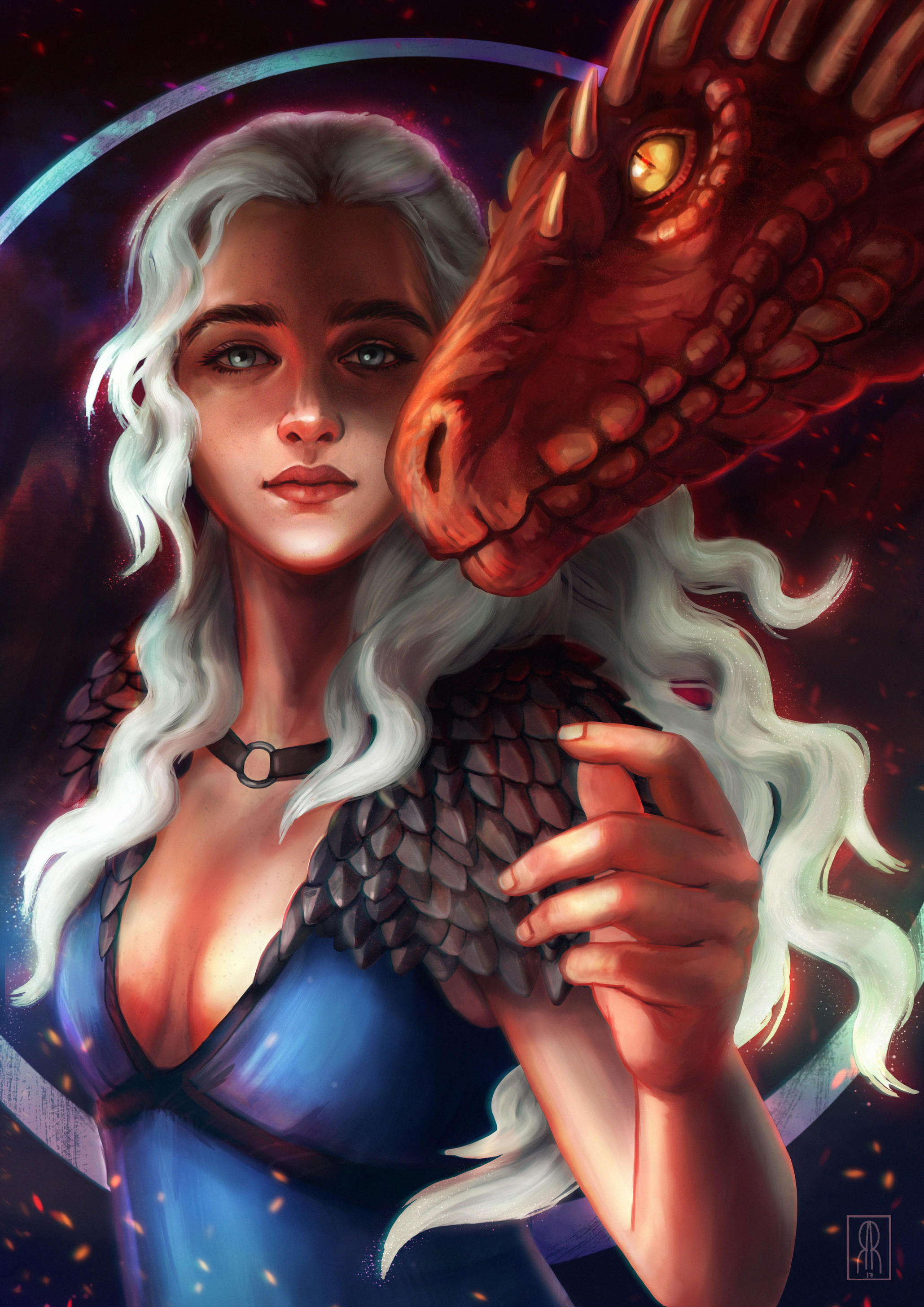 Mother of Dragons by RocioRodriguez