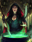 Sorceress by RocioRodriguez