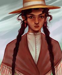 Chica del Sur by RocioRodriguez