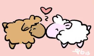 Sheep Love by PGTheGreat13