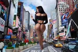 Right Lane Closed - Jailyne Ojeda by migmademedia