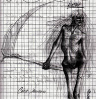 Daughter of Death sketch by Dragonixa2