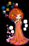 Pixel Ophelia Overdose - Candy Universe by miko-Kamiya