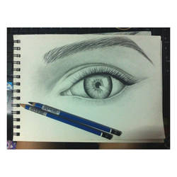 Eye by zandrasandoval