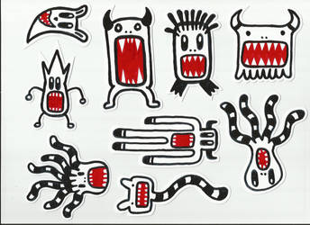 Stickers by Fobiart