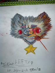 fnaf 6 rock star lefty by Joy-K-A by joy-K-A