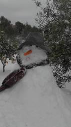 snowman XD  by joyka by joy-K-A