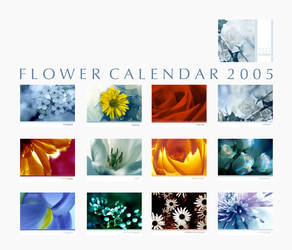 2005 Flowers Calendar by nighty