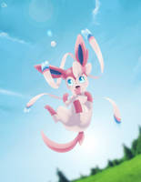 Just Sylveon... by JJao