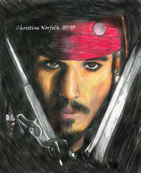 Captain Jack Sparrow - sicgurl by jacksparrow
