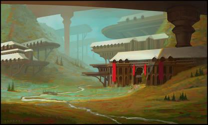 Valleys and Bridges by LSDrake