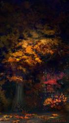 Autumn Night by LSDrake