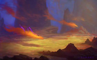 Cloud Surfer (Shaking Rust) by LSDrake