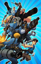 blue team go by locomotion