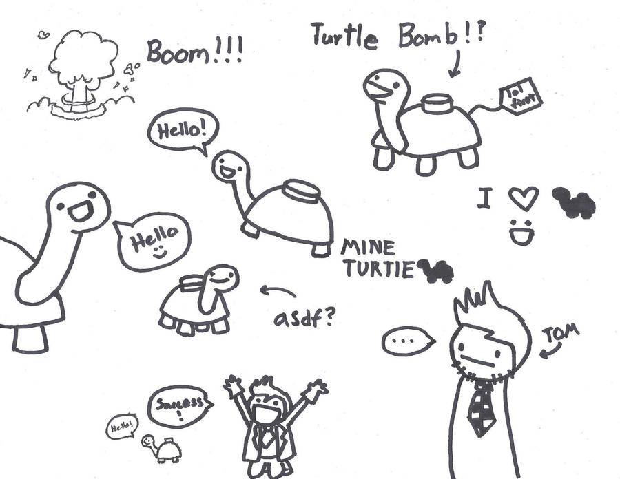 Mine Turtle D By Crispytofu On Deviantart