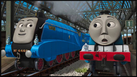 Gordon and Mallard by The-ARC-Minister