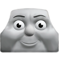 CGI George Happy Face by The-ARC-Minister