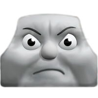 CGI George Angry Face by The-ARC-Minister