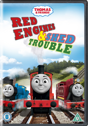 Red Engines and Shed Trouble DVD by The-ARC-Minister