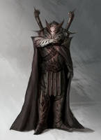 concept character-Deathbringer by ImmarArt