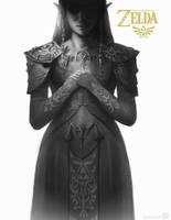 princess Zelda by ImmarArt