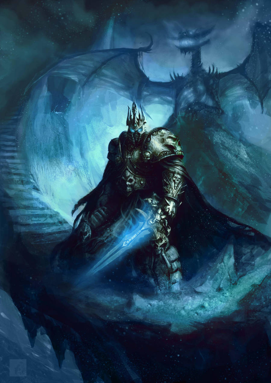 Lich king by ImmarArt
