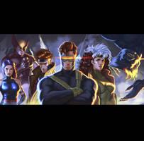 X-men by ImmarArt
