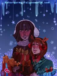 Paigeewolrd contest entry : Merry Christmas ! by KokoroArmy