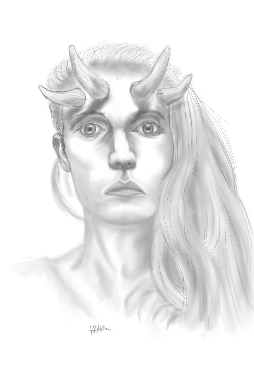Cambion Portrait by PhoenixShaman