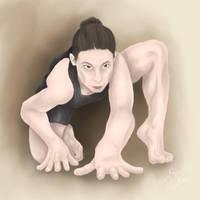 Draw Everything June II - Creep by PhoenixShaman