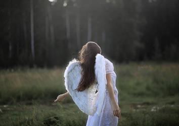angel wings by VAMPIdor