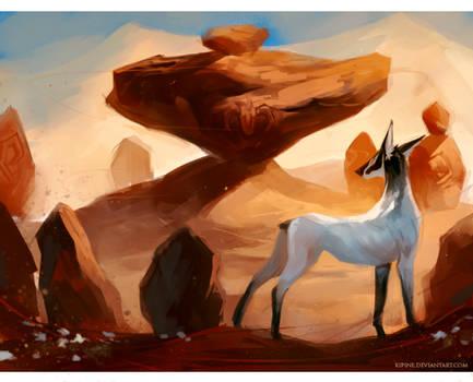 Desert Traveler by Kipine