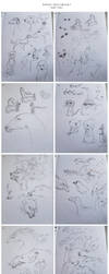 Sketchbook I (part 2/2) by Kipine