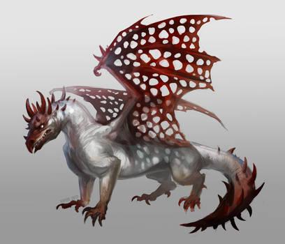 Devil Dragon by Kipine
