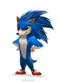 Sonic the Hedgehog by Kipine