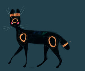 Umbreon by Kipine
