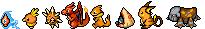 Orange Pokemon Sprite Divider by Sweet-Fizz