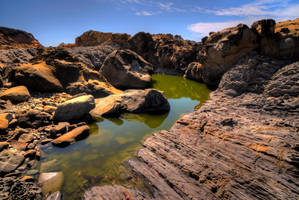 Tidal pool II by PaulWeber