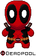 Pixel Toy Deadpool by Meta-link05