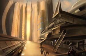 Shuttle Port by theartofTK