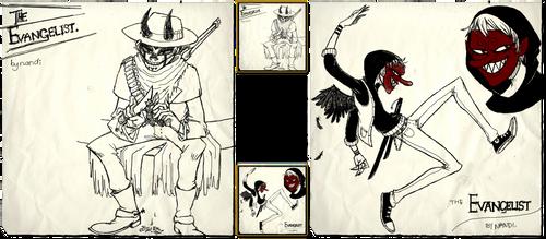 Gorillaz Character Design Comp by nandi