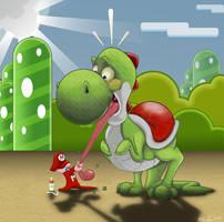 Play Nice Baby Mario by Npr1977