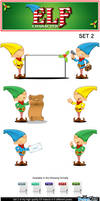 Elf Character - Set 2 by Npr1977