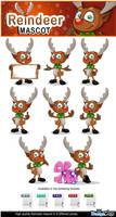 Reindeer Mascot by Npr1977