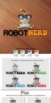 Robot Nerd - Logo Template by Npr1977