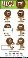 Lion Mascot - Set 1 by Npr1977