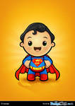 Superman Kawaii Character by Npr1977