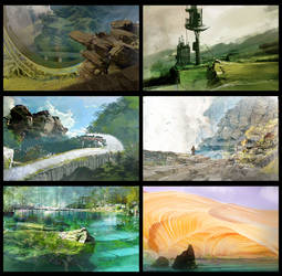 The World I by Iuvenis-Machina