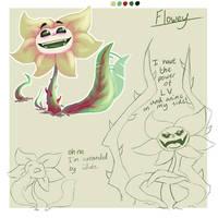 Flowey doodle sheet by BattingButter